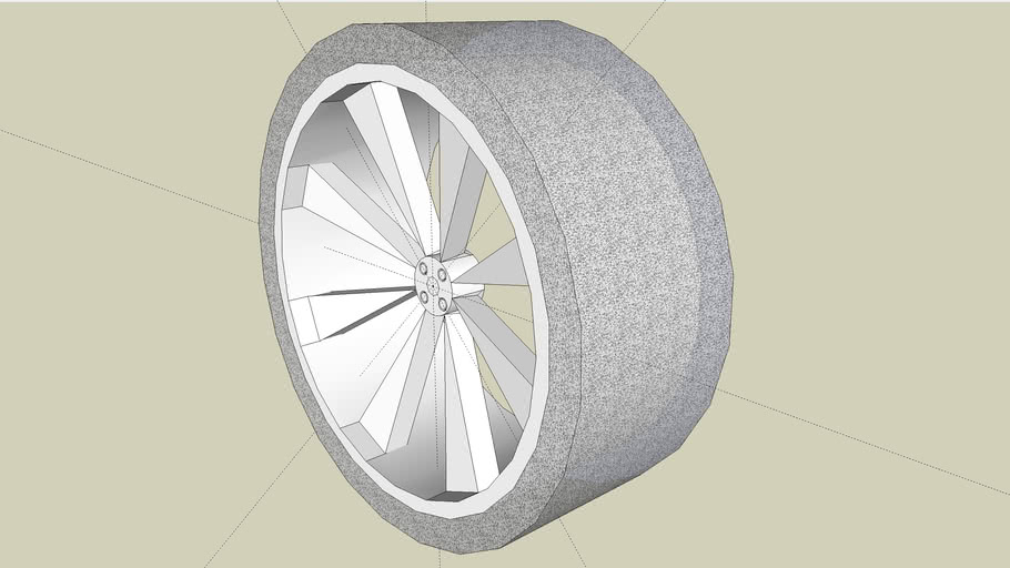 3-D wheel