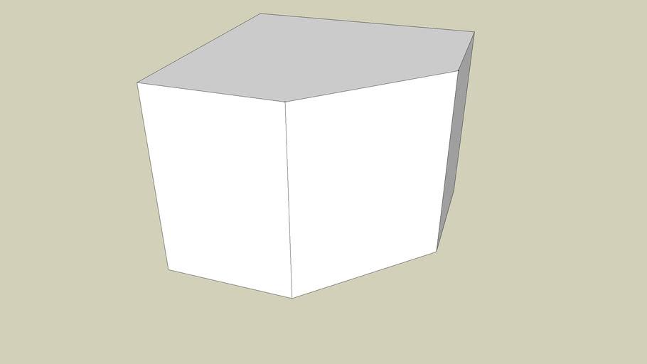 Corner kitchen cupboard