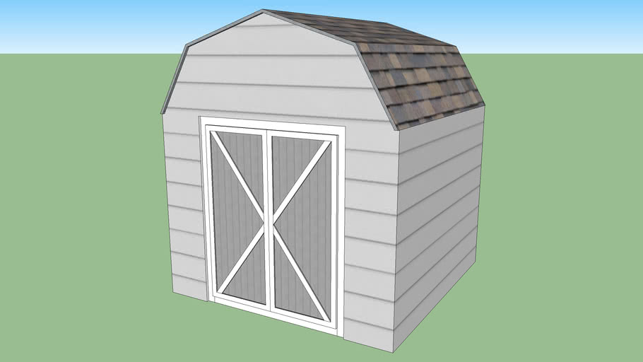Garden Shed 8ft Basic