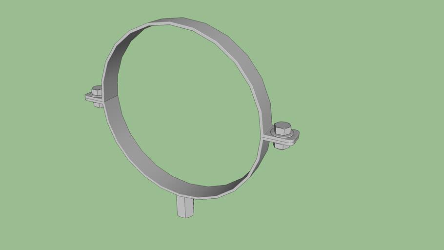 Collare per tubazioni 200 mm --  Collar for pipes 200 mm