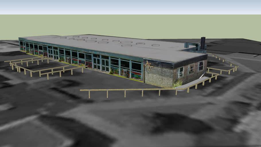 Technology Block, KLB School, Wotton-under-Edge