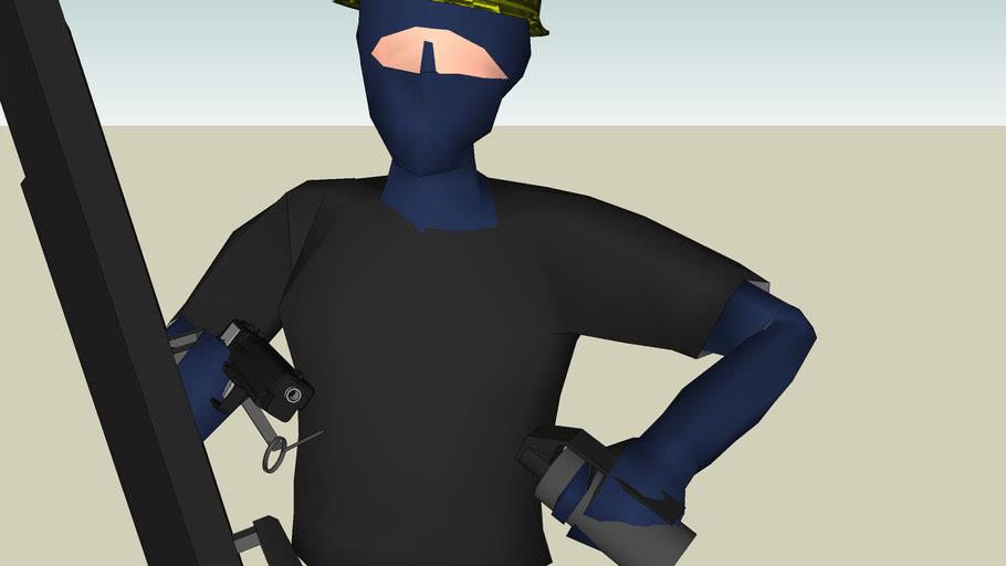Swat Guy #8