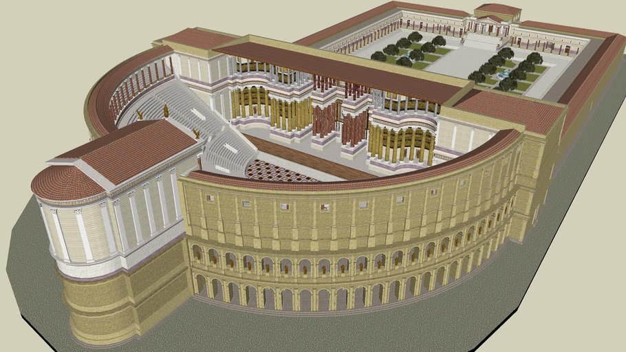 Theatre of Pompey | 3D Warehouse