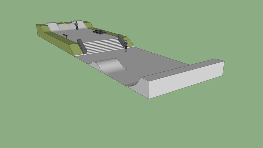 Skateplaza Design 1