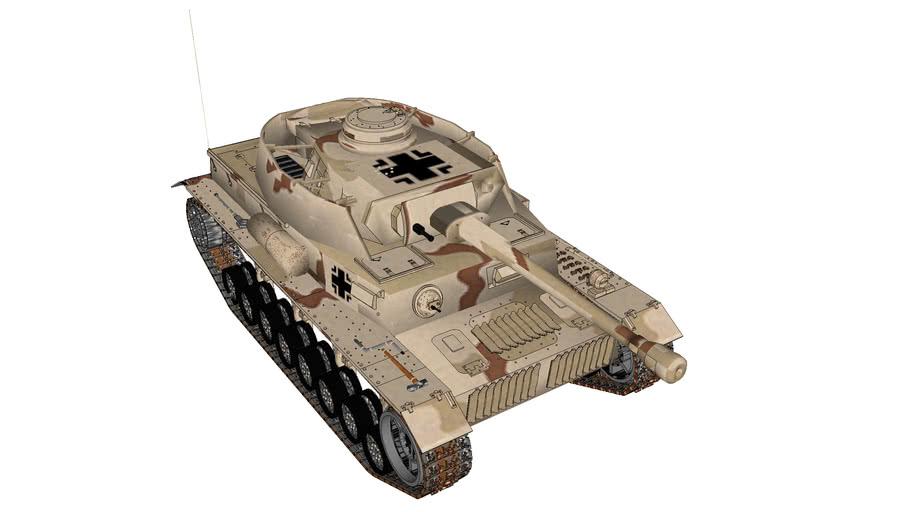 Panzerkamfwagen (Panzer) IV Ausf. F2