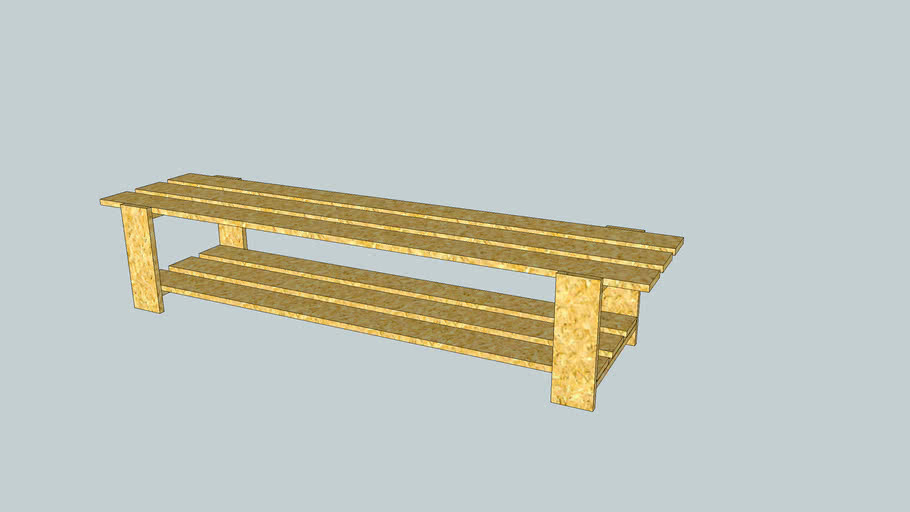 Bench For Shoes
