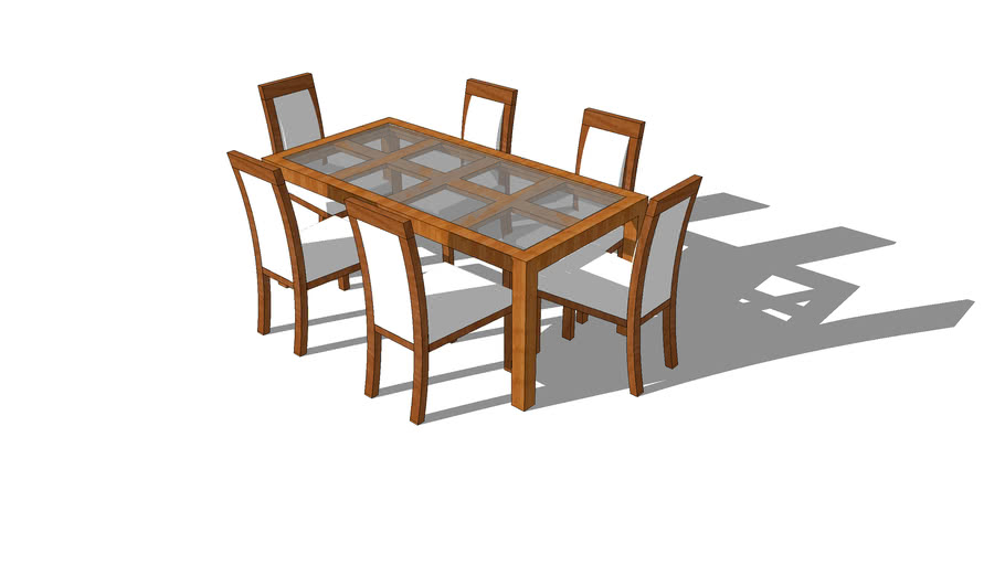 6 Seater Dining Table Warehouse
