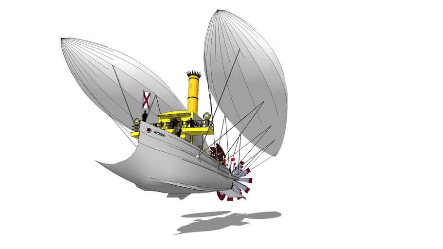 Imperial Fast Courier Airship ACTAEON