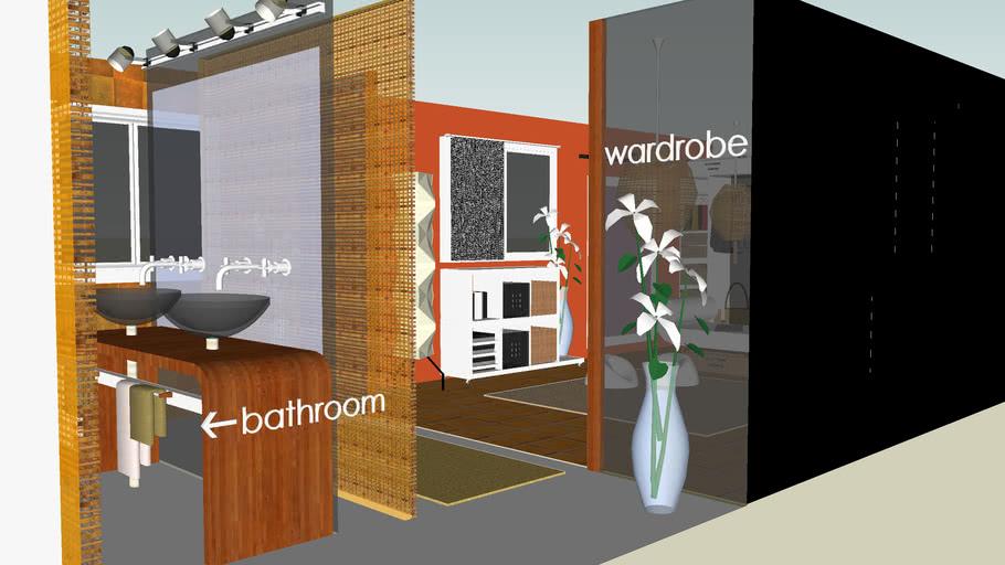 Walk-In Wardrobe (with) Connecting Bathroom