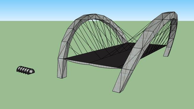 bicycle string bridge