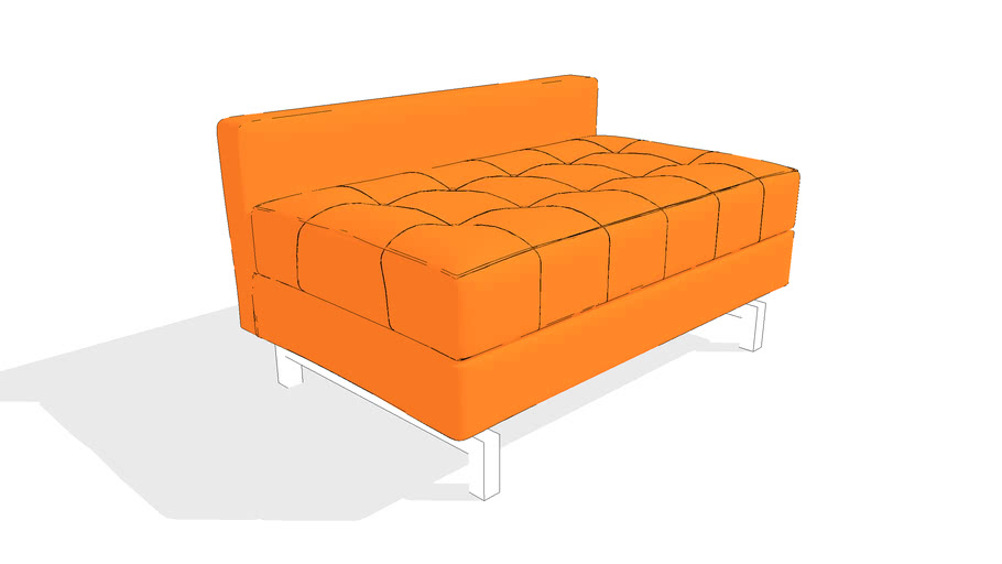 Jane 2 Lounge Sofa by Gus* Modern