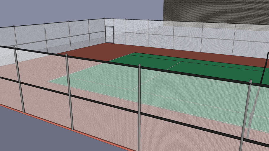 The Tennis Cage