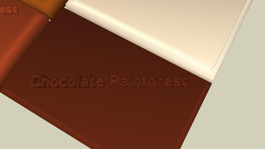 Chocolate Rainforest squares