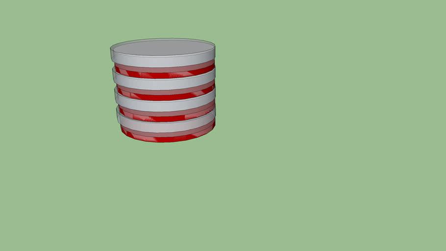 Petri Dish Stack