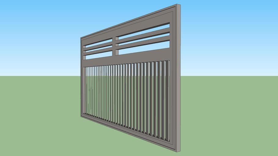 portão garagem aço