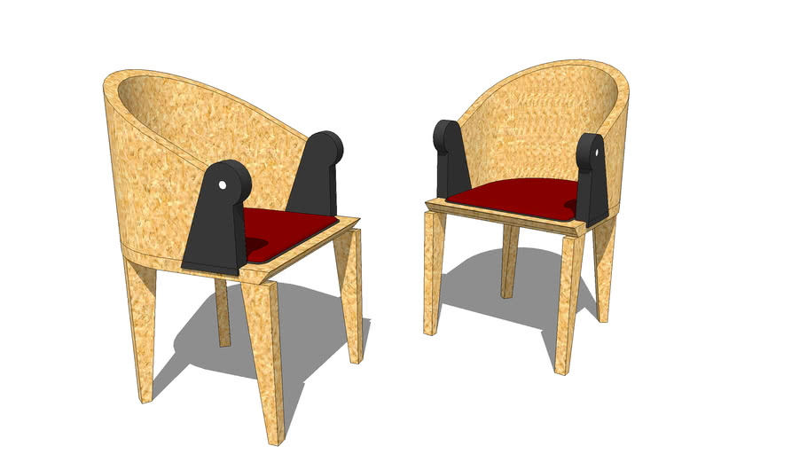 Michael Graves Parrot chairs