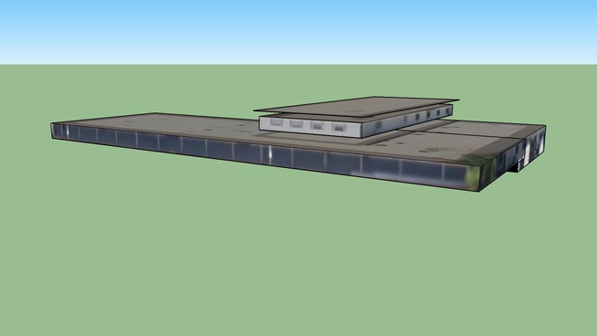 Building in St Petersburg, FL, Marine Center