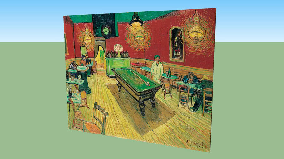 Night Cafѐ by Vincent Van Gogh