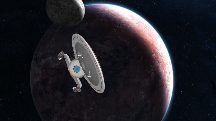 new class federation starship USS Karrington
