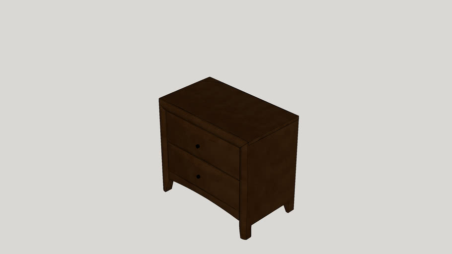 Wexford 2 Drawer Nightstand