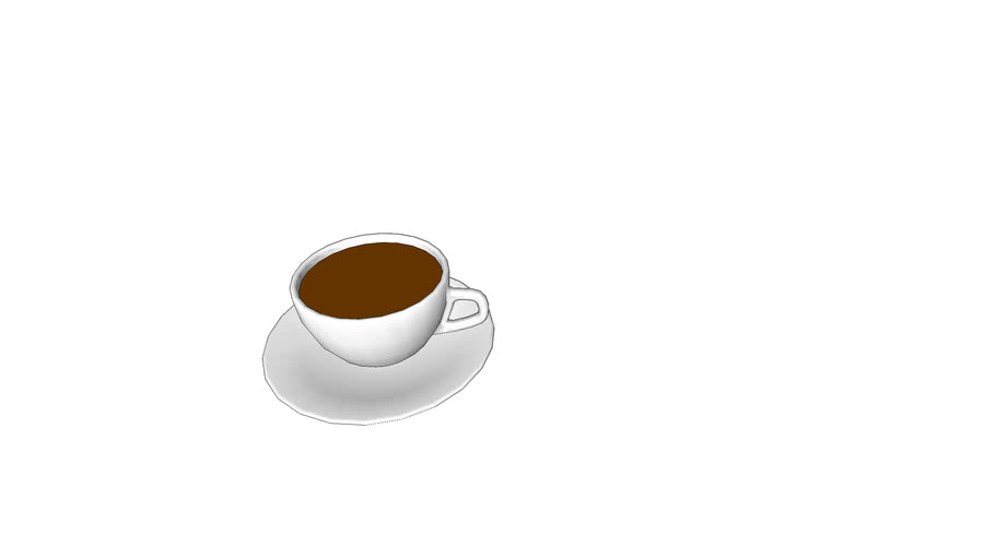 BD_Coffee Cup and Saucer