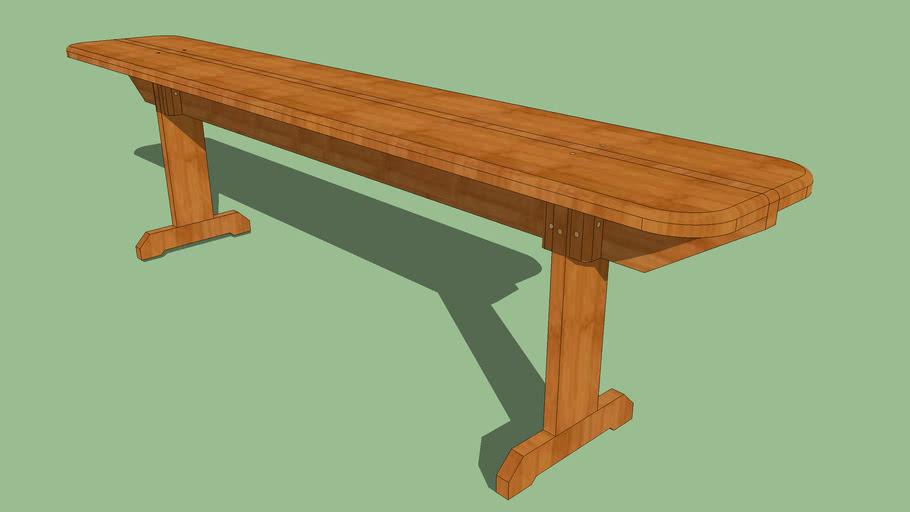 kerti pad fából