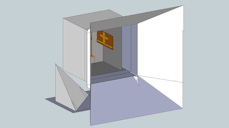 drawing for generic scanner niobium titonate base and indium strain guag