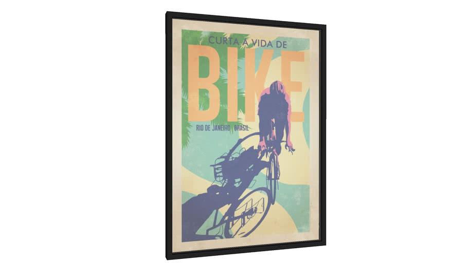Quadro Bike - Galeria9, por Cocobamboo Artwork