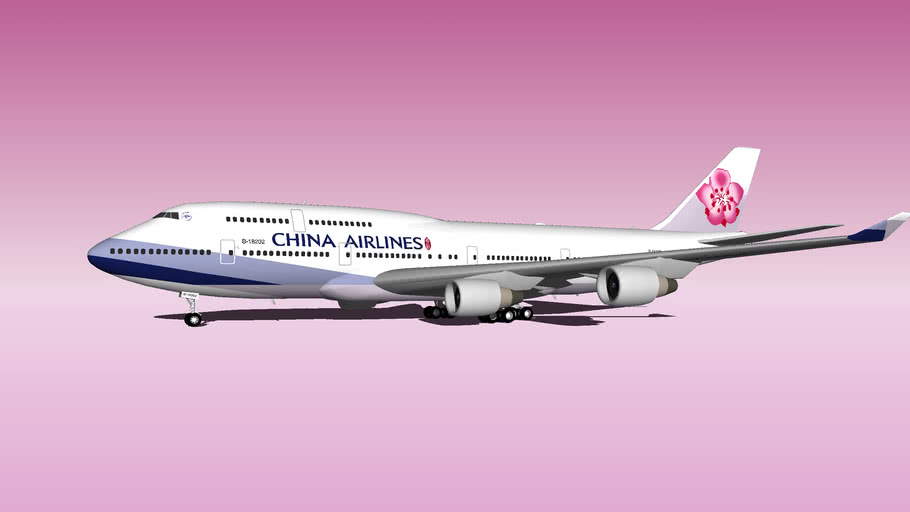 China Airlines B747-400 1