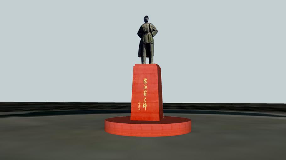 太原牛驼寨徐向前雕塑