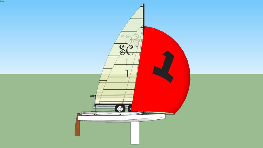 snowcat 16 sailboat