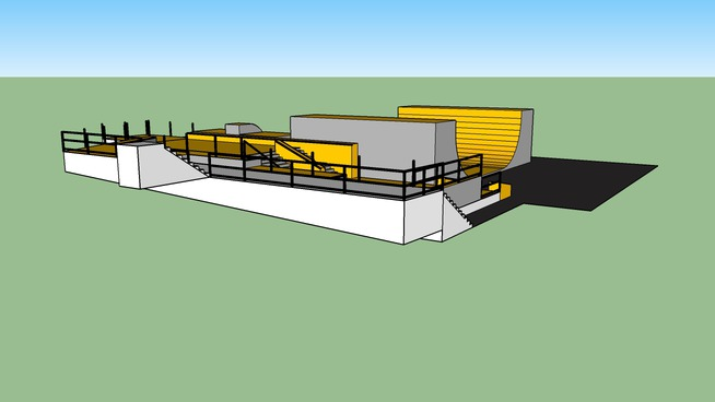 Lake Owen Camp skate plaza design Ver1