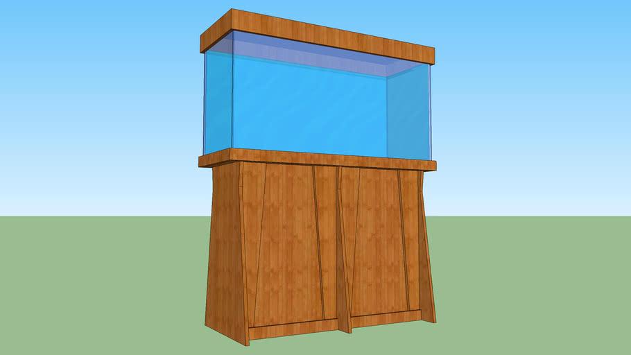 Aquarium Stand with Canopy (Simple)