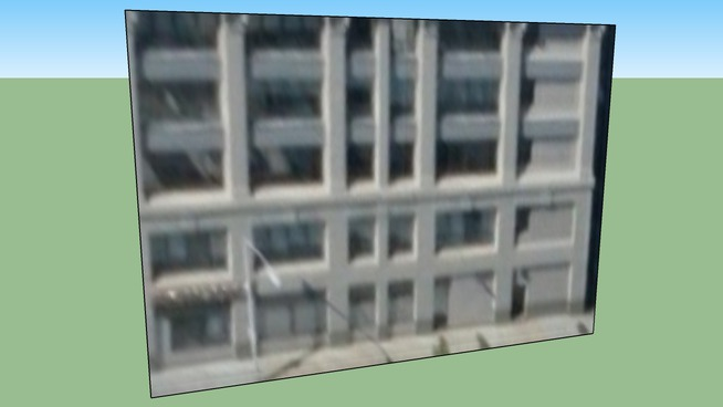 Budynek przy Cambridge, MA, USA