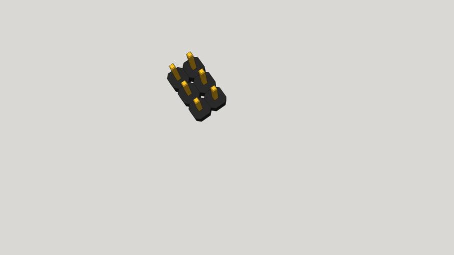 GOLD PIN 2X03