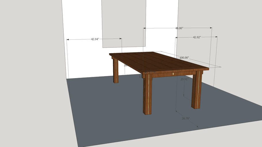 Buchheit Dining Room Table