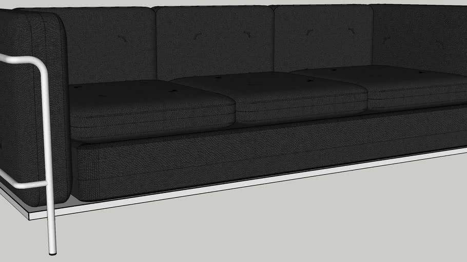 Le Corbusier-Style 3-Seated Sofa