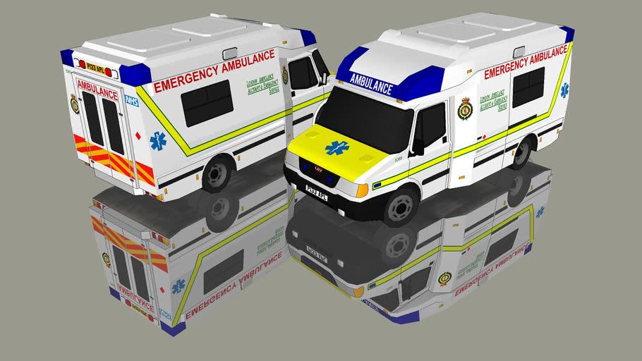 1997 LDV CONVOY (London Ambulance)