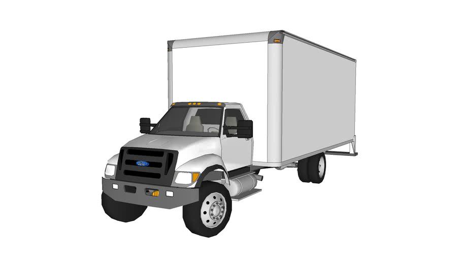 F750 Box truck