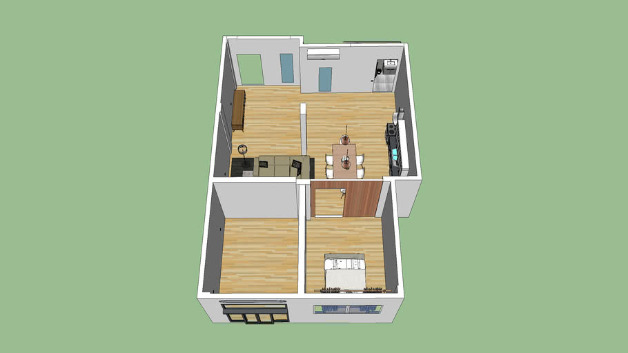 Compact Flat and Storage
