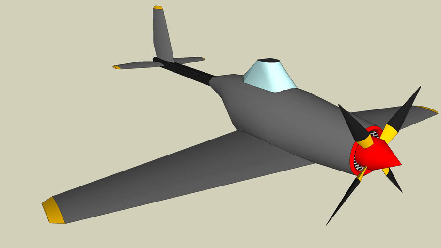Small propellor plane
