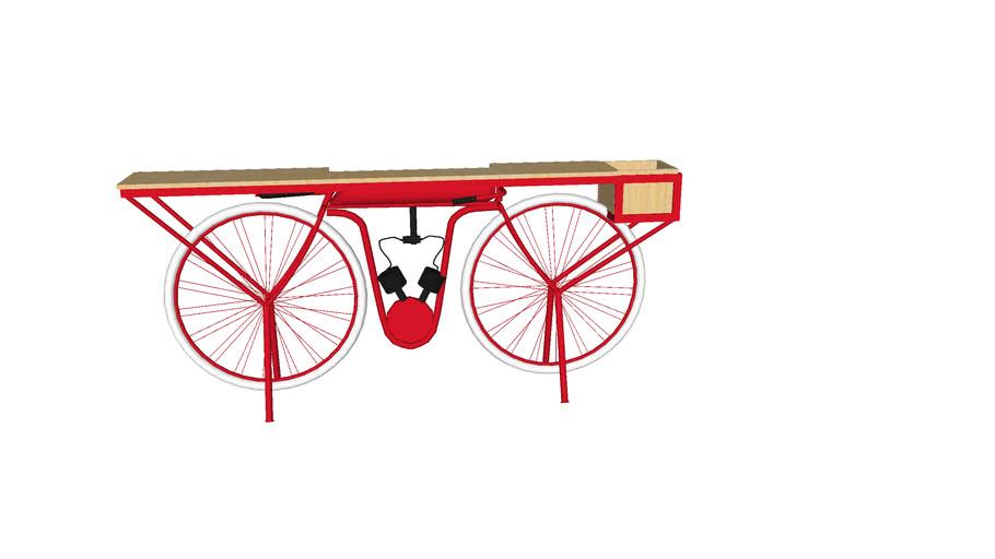 83484 Console Bike Red