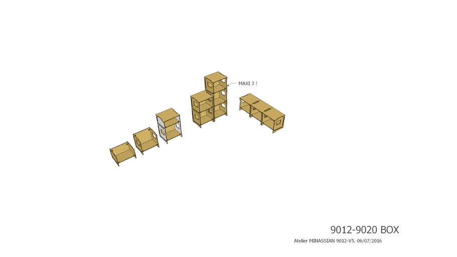 9012 - 9020 - Box - Atelier Minassian