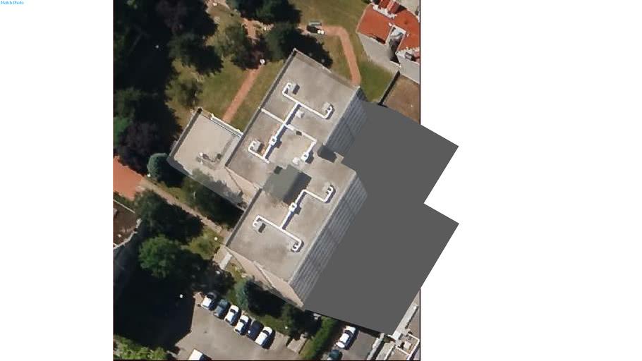 Edificio in Lione, Francia