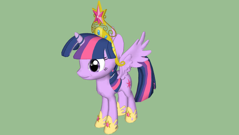 Princess Twilight Sparkle 3d Warehouse