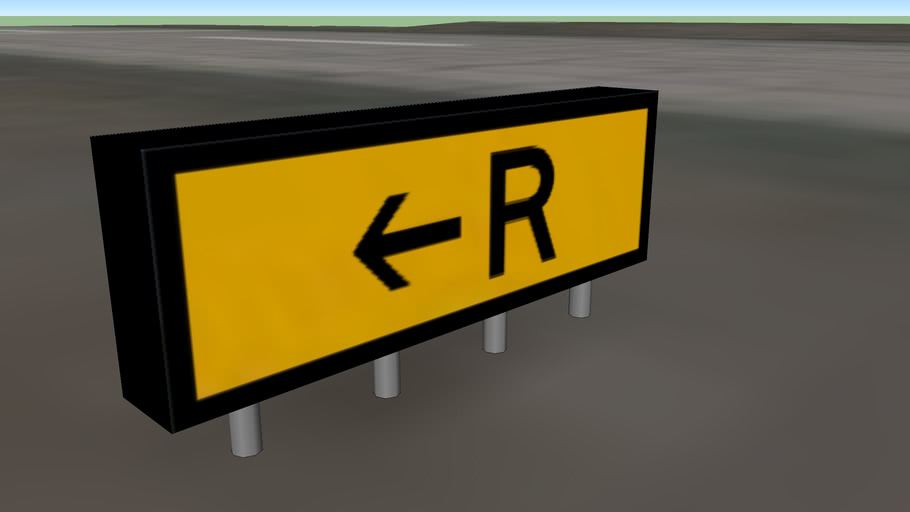 Southport Airfield Signage - R1