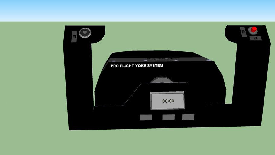 Volant avion Pro Flight Yoke System