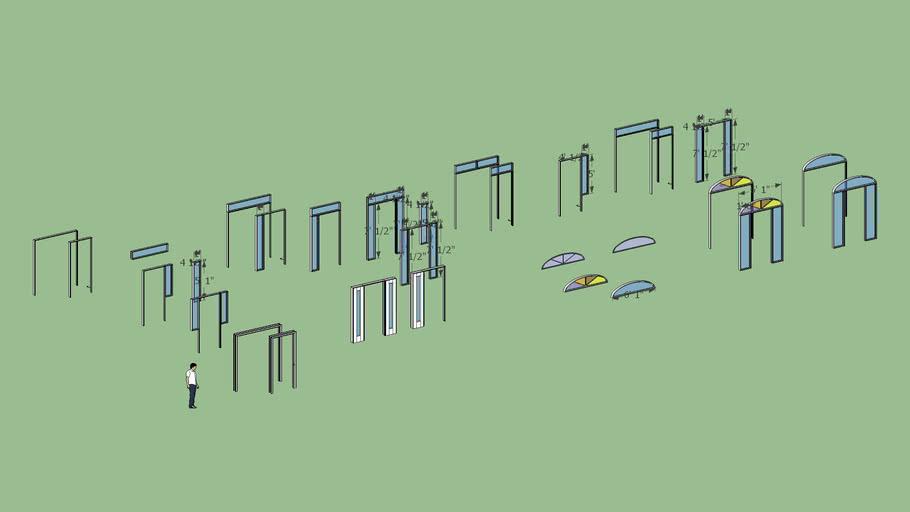 3070 custom door frames