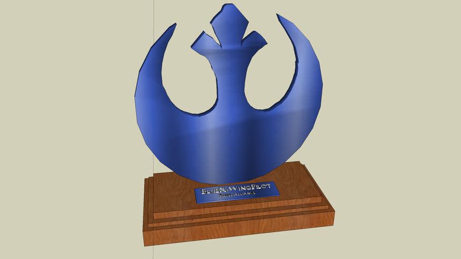 Rebel Alliance Trophy for Open Challenge 2# Contest