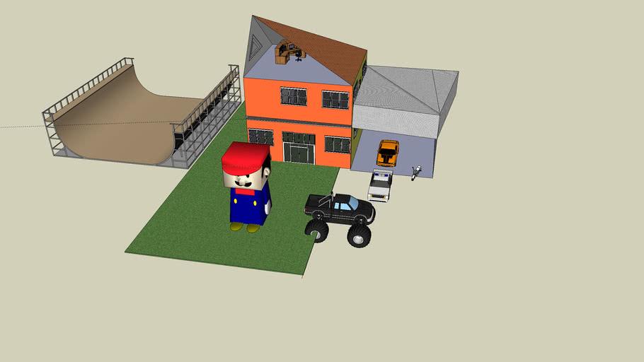 Mario's playhouse